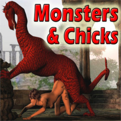 porn chicks and monsters
