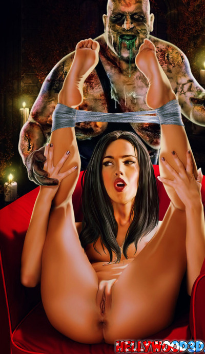 Megan Fox and walking dead monster hentai_cleaned